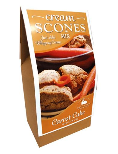 Carrot Cake Scone Mix