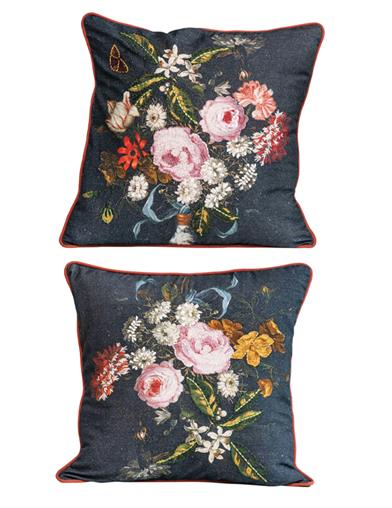 Dutch Masters Bouquet Pillows