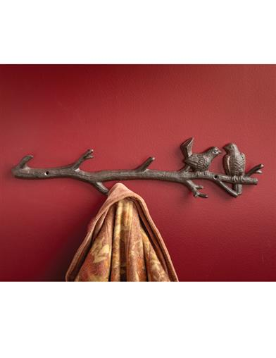 Birds Of A Feather Cast Iron Hook