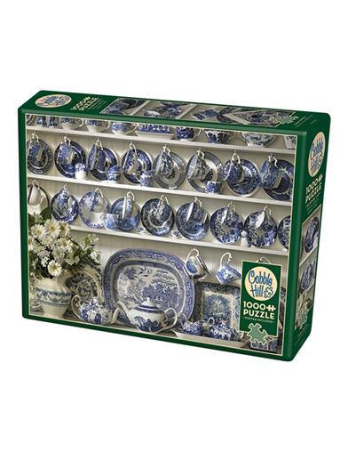 Blue Willow China Hutch Puzzle