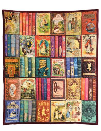 Once Upon A Time Fairytale Book Quilt