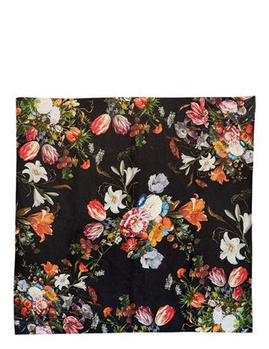 Midnight Blooms Tablecloth