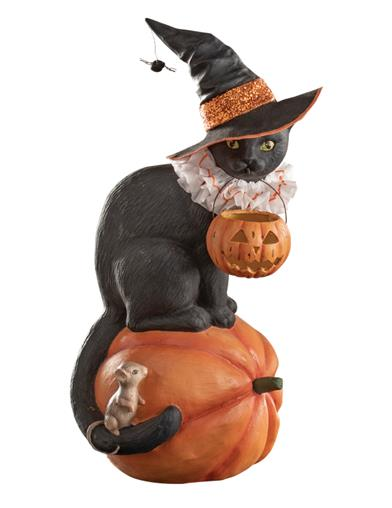 Bethany Lowe's Twilight The Cat Witch