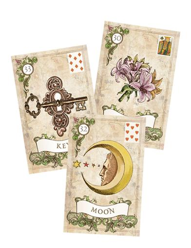 Old Style Lenormand Fortune Telling Cards