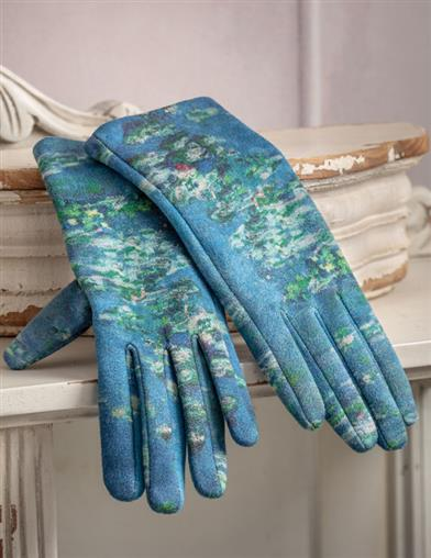 Waterlilies Of Giverny Gloves