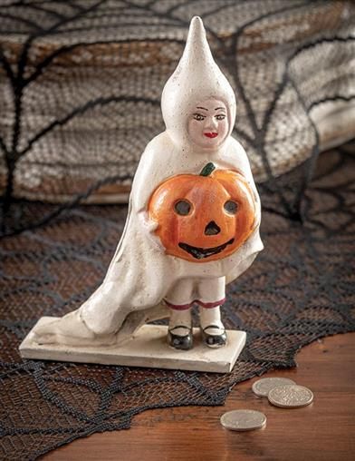 Ghostly Gertie Vintage Cast Iron Bank