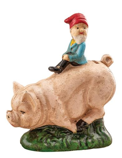 Wee Winkle And Paddy The Pig Bank