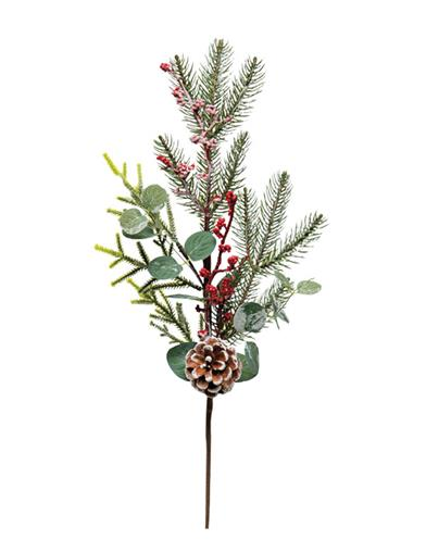 Holiday Spray With Berries & Eucalyptus (Set Of 2)