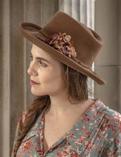 Bonnie's Floral Cowgirl Hat