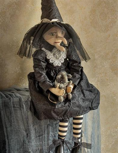 Elenora The Witch Art Doll