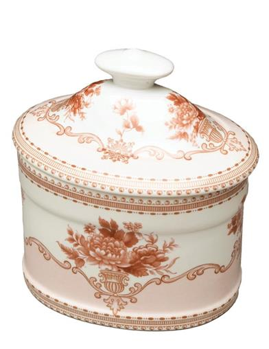 Classic Colette Transferware Box With Lid