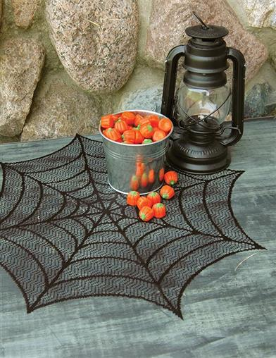 Spider Web Doilies (Set Of 4)