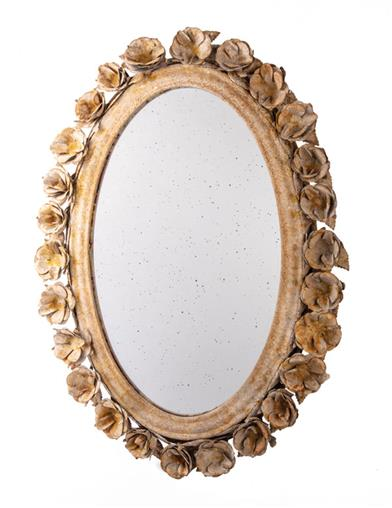Romantic Reflections Framed Wall Mirror