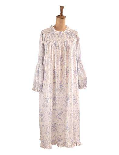 Fairytale French Blue Toile Nightgown
