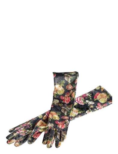 Butterflies And Blooms Opera Gloves