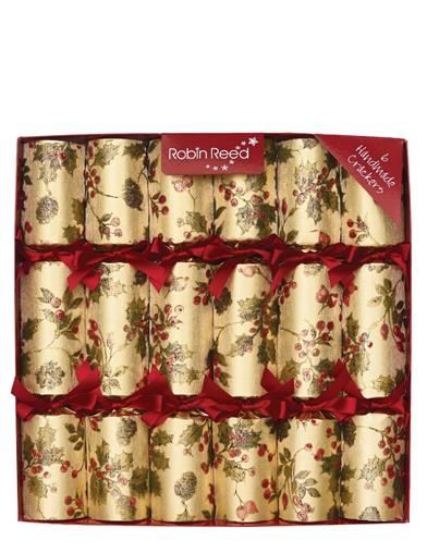 Hollyberry Garland Christmas Crackers