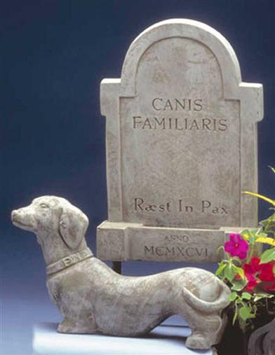 Pet Grave Marker (Dog)