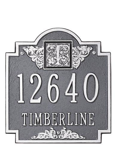 Surname Initial Address Plaque