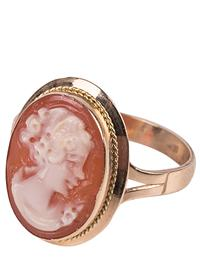 Cameo Ring (14 Kt Gold)