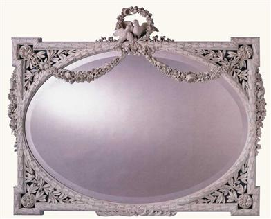 Newport Mansions Lovebirds Mirror