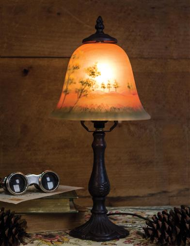 Woods At Dusk Lamp