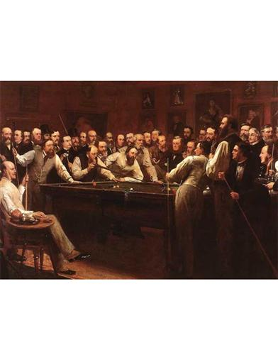 Billiard Room (Pkg Of 6 Father's Day Cards)