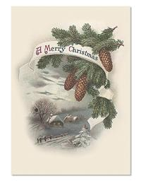 A Merry Christmas Holiday Card (Pkg Of 10)