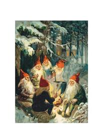 Gnomes Christmas Cards (Pkg Of 10)