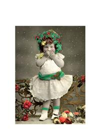 Girl Naughty List Christmas Cards (Pkg Of 10)