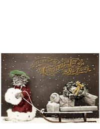 Kitty Packages Christmas Card (Pkg Of 10)