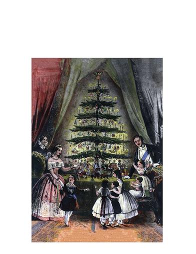 Christmas Tree Christmas Cards(pkg Of 10)
