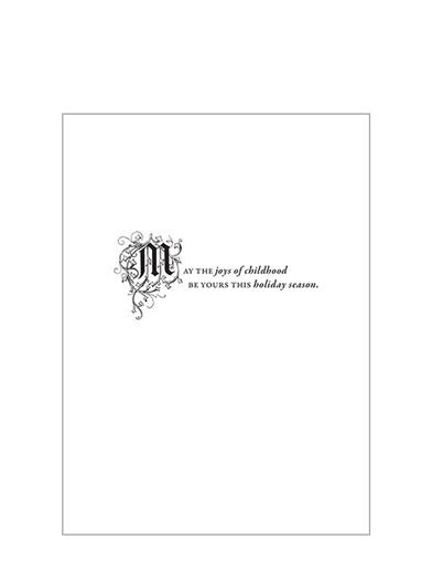 Toy Store Window Christmas Cards (Pkg Of 10)
