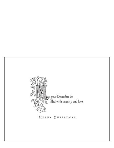 Church Landscape Christmas Cards(pkg Of 10)