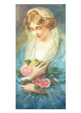 The Rose Gatherer (Pkg Of 6 Mother's Day Cards)