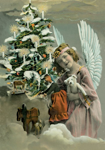 Holiday Greetings To A Real Angel...